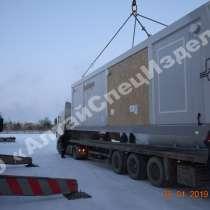 Блочный склад для хранения материалов и баллонов, в Барнауле