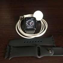 Отличные часы Apple Watch S3 38mm, в Кургане