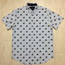 Хлопковая рубашка с рисунком ZARA, в г.Минск