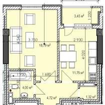 Срочно продаю квартиру 1 комнатную по цене ниже застройщика, в г.Бишкек