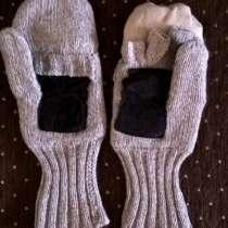 Продам шерстяные варежки-перчатки новые, в Новосибирске