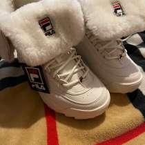 Женские зимние ботинки FILA, в Саратове