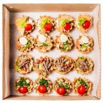 Тарталетки с начинкой и салаты на заказ с доставкой, в Екатеринбурге