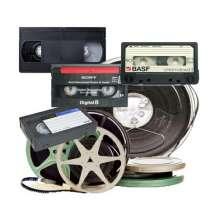 Оцифровка, перезапись бобин, слайдов, кассет, VHS, кино 8мм, в Москве