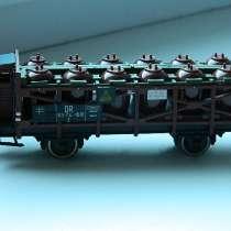 Платформа с резервуарами к детской железной дороге PIKO, в Челябинске