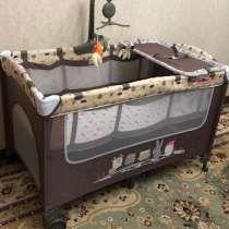 Детский манеж-кровать Babyton, в г.Алматы