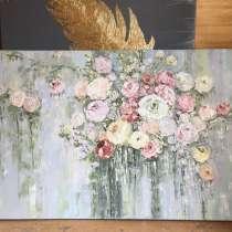 Картина маслом «цветы», в Санкт-Петербурге