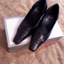 Продам туфли Hogl разм 34-34,5 бу кожа, в Санкт-Петербурге