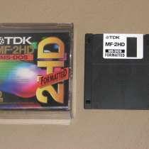 Дискеты 3.5 дюйма для компьютера IBM-PC, в Москве
