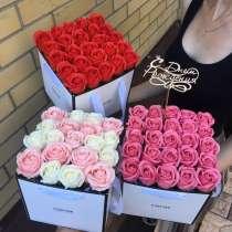 Подарок мыльные розы, в Омске