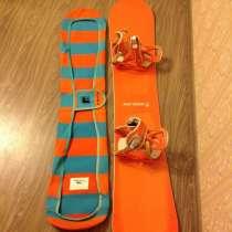 Сноуборд и ботинки, в Уфе