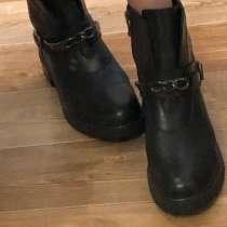 Натуральные кожаные ботинки, в Раменское
