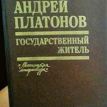 Книга-Андрей Платонов-Государственный житель, в Липецке