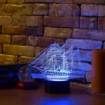 3D светильник корабль, в Москве
