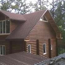 Фасадные работы для деревянных домов, в Хабаровске