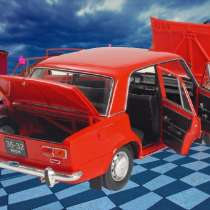 Legend of the Soviet automobile industry, VAZ-2101, в Санкт-Петербурге