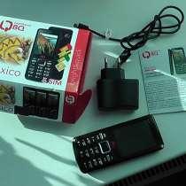 Телефон на 4 Симки. Гарантия магазина 1год, в Новосибирске