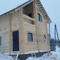 Продажа деревянных домов из оцилиндрованного бревна, в Перми