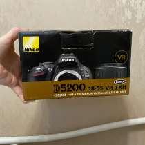 Nikon 5200 18/55 kit, в Истре
