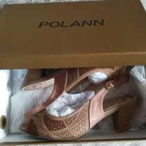 Туфли-босоножки новые Polann, р-38, в Новосибирске
