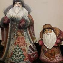 Дед Мороз. Дерево. Роспись, в Санкт-Петербурге