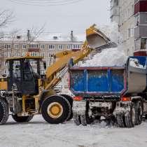 Уборка снега, вывоз снега, чистка территории, в Новосибирске
