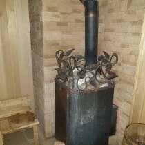 Дом из бруса цилиндр с баней внутри и купелью, в Калуге