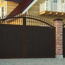 Организация изготовит любые ворота, ПВХ конструкции, в Пензе