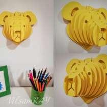 Дизайн Арт Декор Подарок Bear (Медведь), в Москве