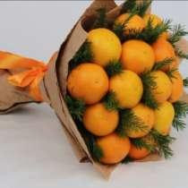 Новогодний букет Съедобный букет из мандаринов Подарок, в г.Минск