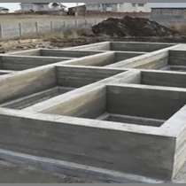 Фундамент для дома, строительство, в Коломне