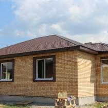 Продается дом из газоблока в облицовке кирпич 100 кв. м, в Сарапуле