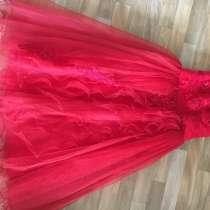 Праздничное платье на девочку. Надевалось один раз, в Находке