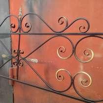 Кованая оградка от 1500руб. м. п, в Тюмени