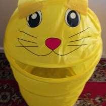 Корзина-котенок для хранения игрушек, новая, в г.Брест
