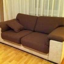 Перетяжка мягкой мебели. Чехлы съемные шьем, подушки, шторы, в г.Астана
