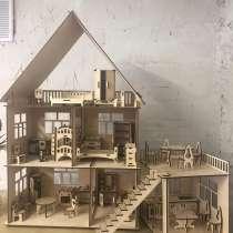 Кукольный домик 3D- Пазл, в Новосибирске