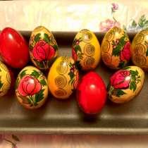 Яйцо сувенирное Семёновская роспись новое, в Владимире