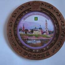 Изготовление Сувенирных тарелок, деревянная, резная, в Москве