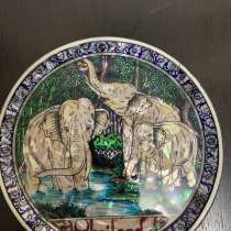 Сувенирная тарелка Таиланда, в Ноябрьске