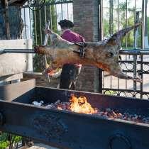 Электрический вертел на мангал для жарки барана, в Истре