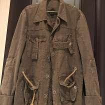 Куртка джинсовая удлинённая, в Подольске