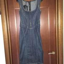 Платье новое Dolce&Gabbana Италия S 42 44 джинсовый сарафан, в Москве