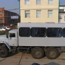Вахтовый автобус, в Омске