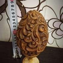 Яйцо из дерева, в Сергиевом Посаде