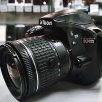 Продаётся фотоаппарат Nikon D3400, в Краснодаре