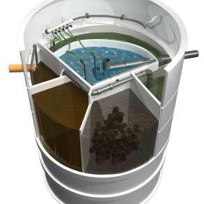 Самая популярная в Европе установка сточных вод АТ8, в Москве