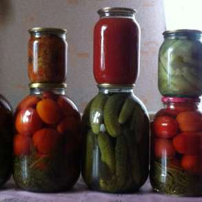 Домашняя плодо-овощная консервация, в Бийске