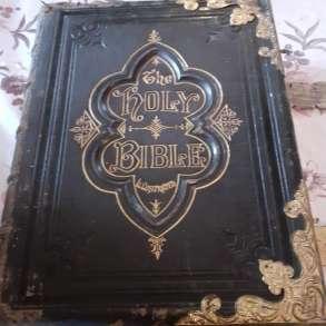 Антикварная коллекционная Библия, в Москве
