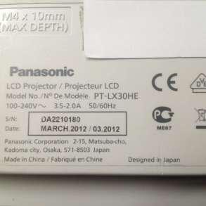 Проектор б. у. Panasonic PT-LX30HE в Томске, в Томске